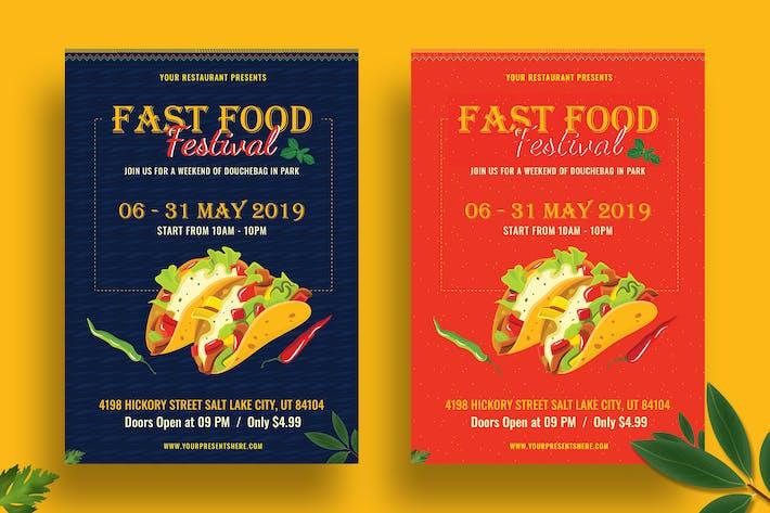 Thumbnail for Food Festival Flyer-07
