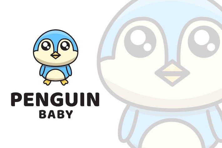 Thumbnail for Penguin Baby Cute Logo Template