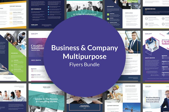 Thumbnail for Flyers – Business Multipurpose Bundle 10 in 1