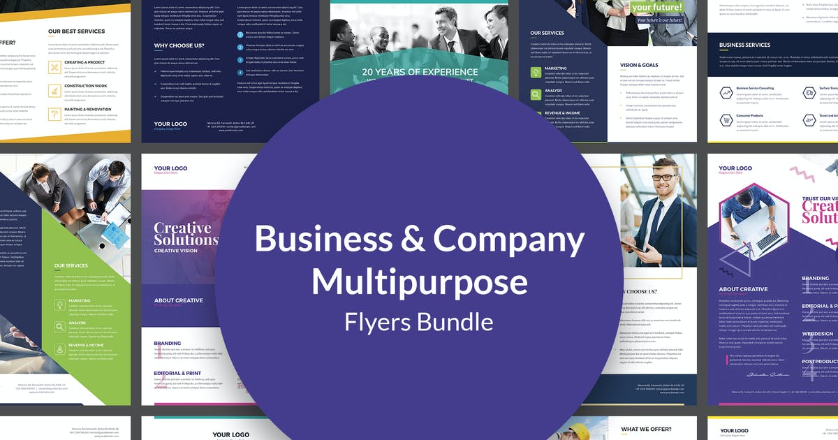 Download Flyers – Business Multipurpose Bundle 10 in 1 by artbart