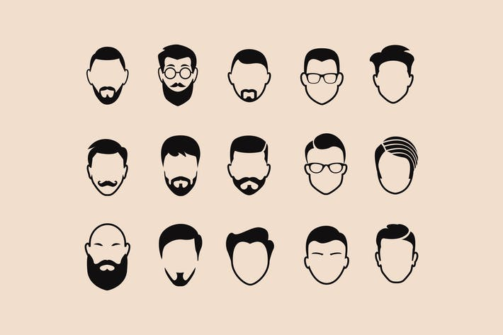 Thumbnail for 15 Abstract Male Icons