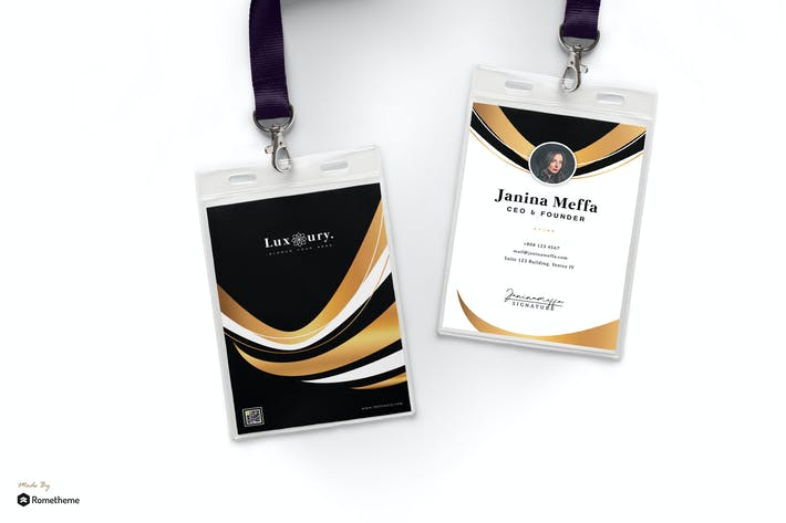 Thumbnail for Luxury - Creative Business Id Card HR