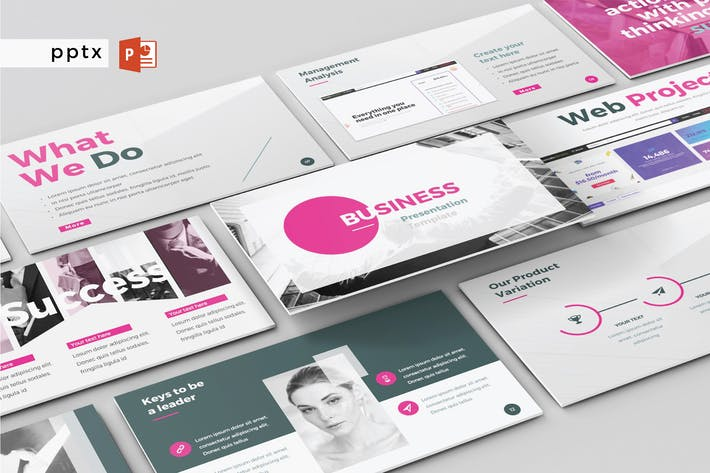 Cover Image For BUSINESS - Multipurpose Powerpoint V147