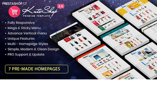 KuteShop - Fashion, Electronics & Marketplace Pres - product preview 0