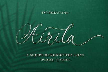 Airila - Calligraphy Font