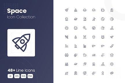 48 Weltraum-Icon-S