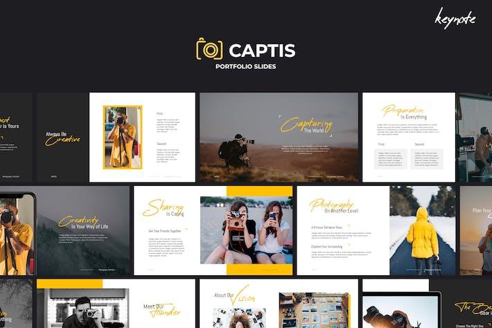 CAPTIS - Portfolio Keynote Template