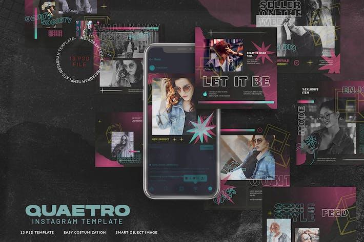 Thumbnail for Quaetro Instagram Stories Urban Fashion Style