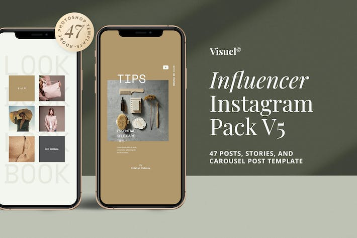 Thumbnail for Influencer Social Media Kit v.5