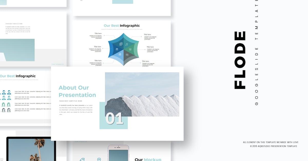 Download Flode - Google Slides Template by aqrstudio