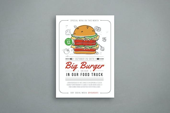 Thumbnail for Burger Flyer