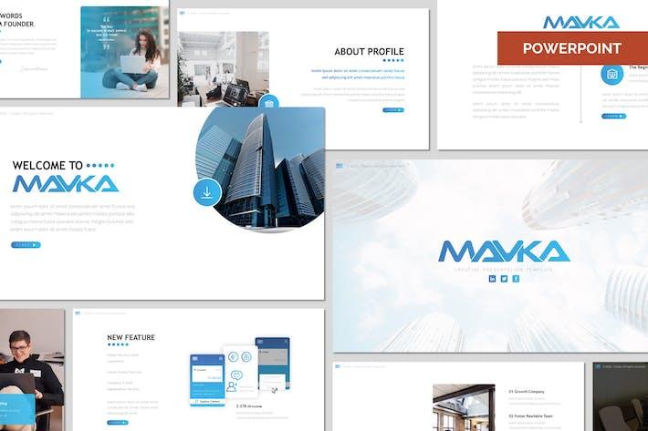 Thumbnail for Mavka - Бизнес Шаблон Powerpoint
