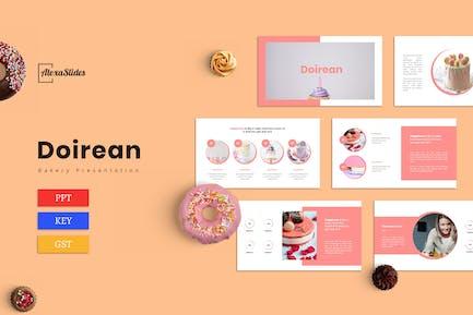 Doirean - Bakery Presentation Template