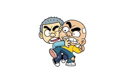 Kids Quarrel - Character RG