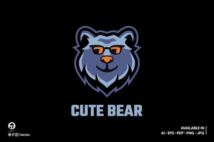 Thumbnail for Cute Panda logo template