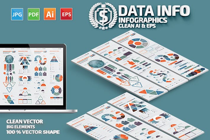Cover Image For Data Infographics Design