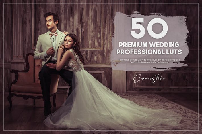 50 Premium Wedding LUTs Pack