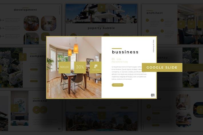 Real Estate - Google Slides Template