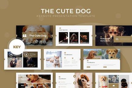The Cute Dog - Keynote Template