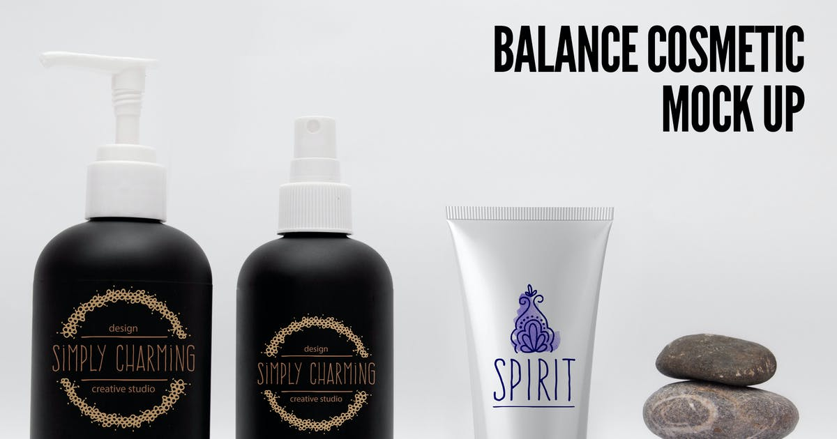 Download Balance cream Mock Up by Unknow