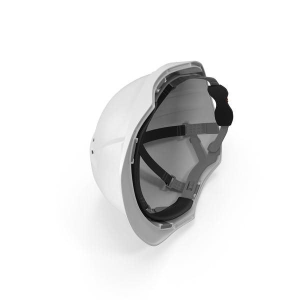 Cover Image for White Safety Helmet