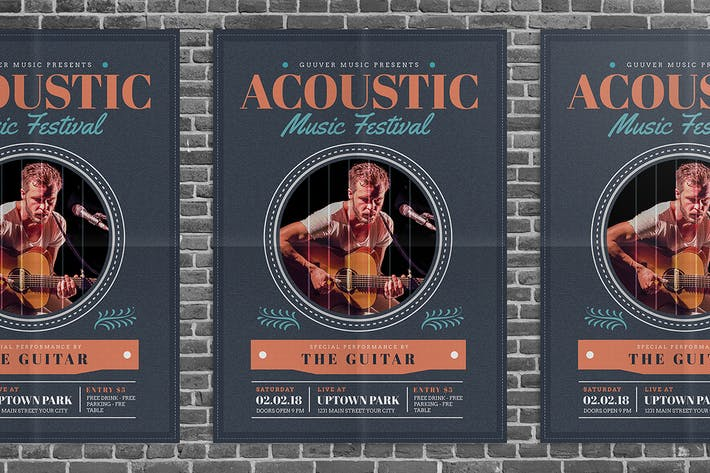 Thumbnail for Acoustic Music Flyer