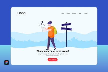Fof - 404 Landing Page 2