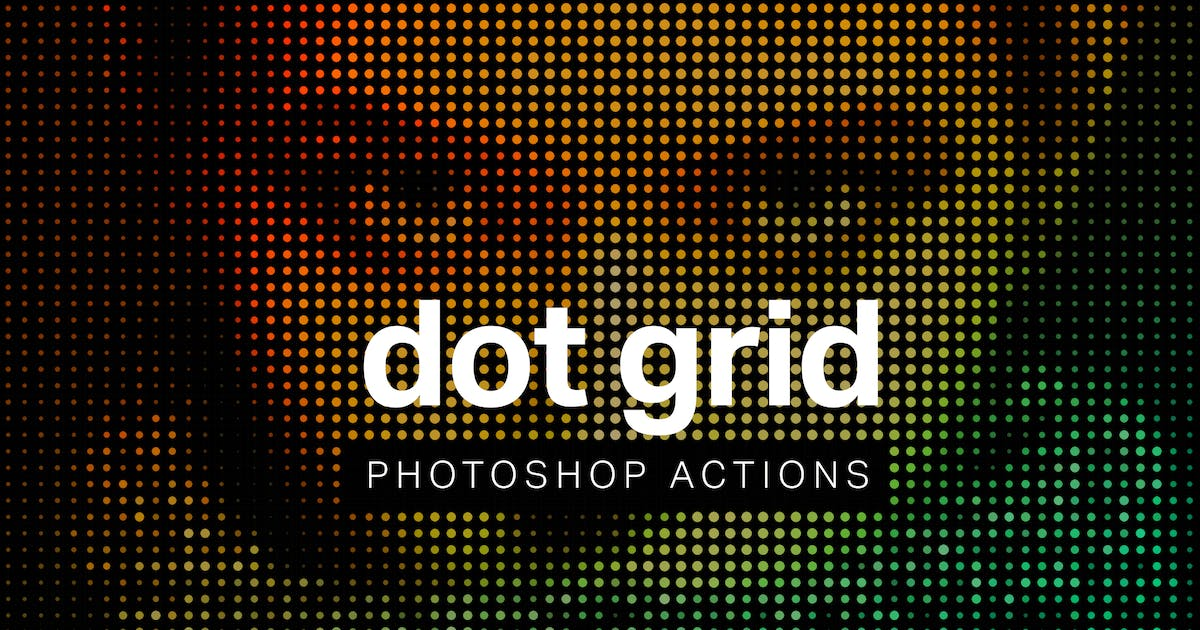 Download Dot Grid Photoshop Actions by sparklestock