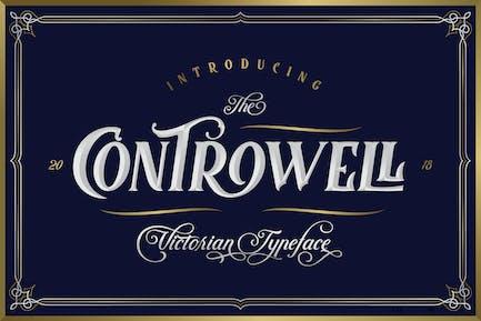 Controwell Victorian Tipo de letra