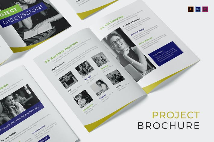 Thumbnail for Project Disscussion Brochure