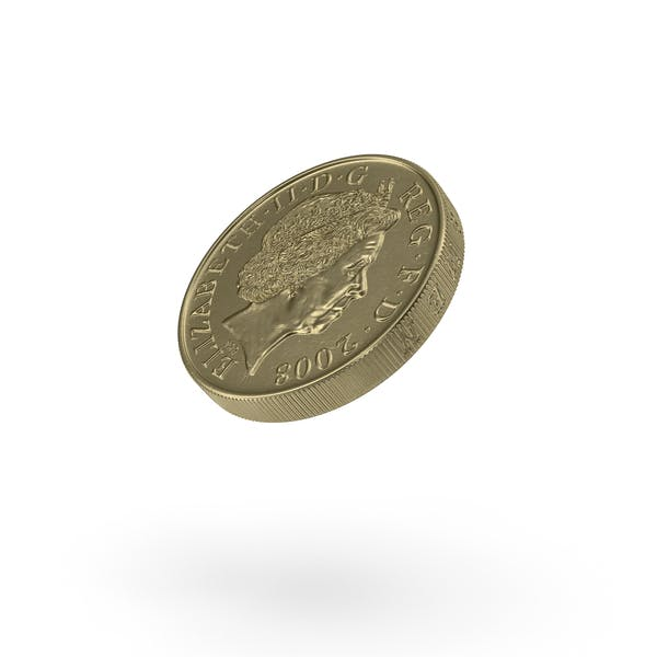 Thumbnail for British Pound Coin