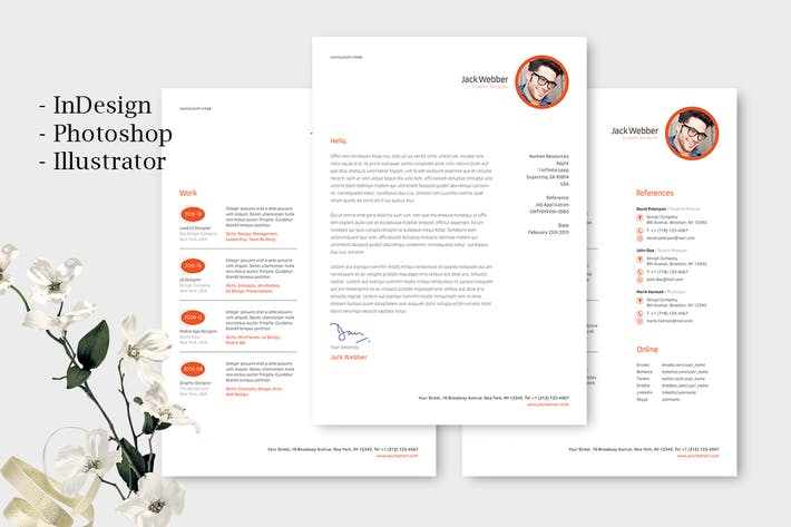Thumbnail for Business Resume Template
