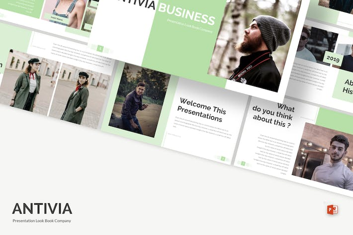 Thumbnail for Antivia - Powerpoint Template