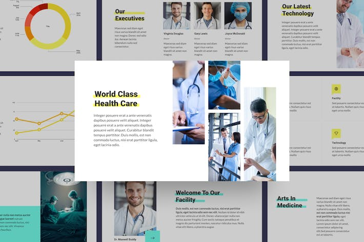 Heltisa - Medical And Health Presentation Template