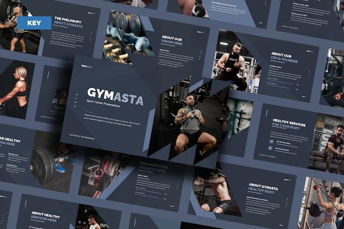 Gymasta Healthy Body - Keynote UP