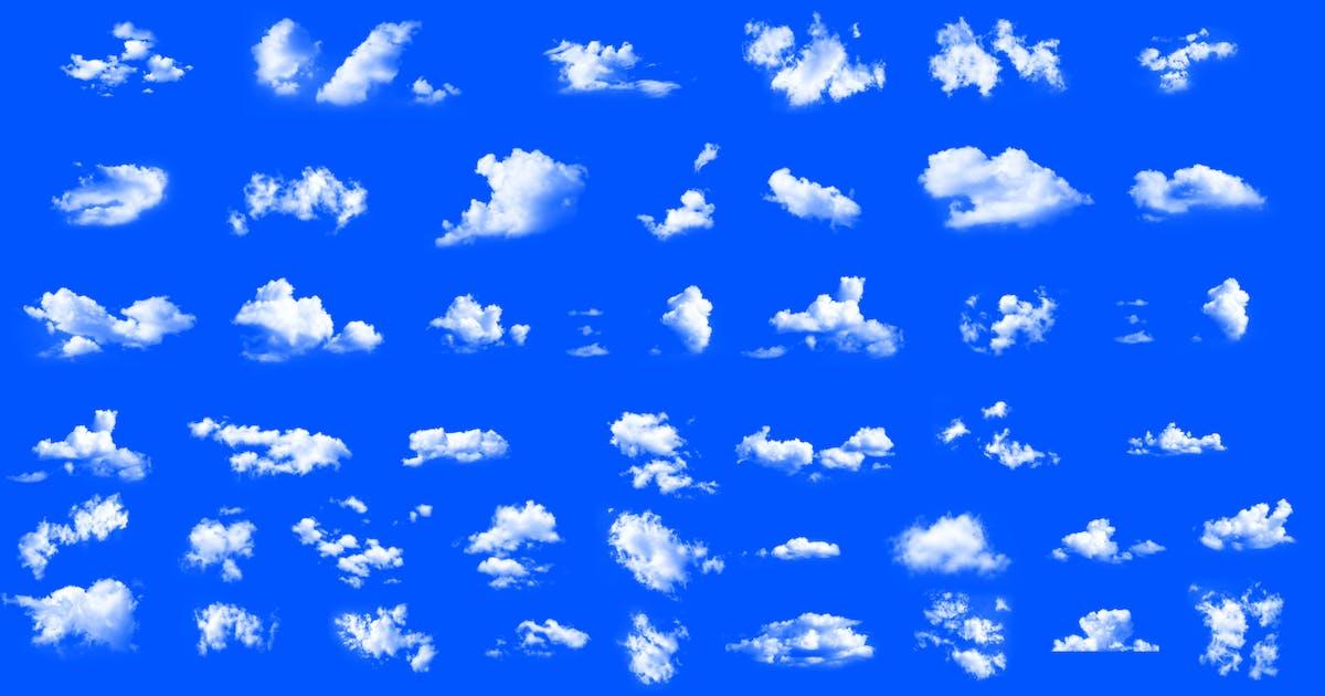 Download 50 Pieces Dreamy Soft Clouds Photoshop Set by okanakdeniz