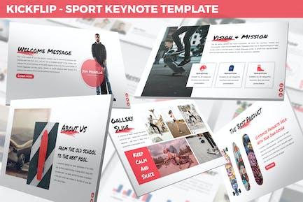 Kickflip - Sport Keynote Template