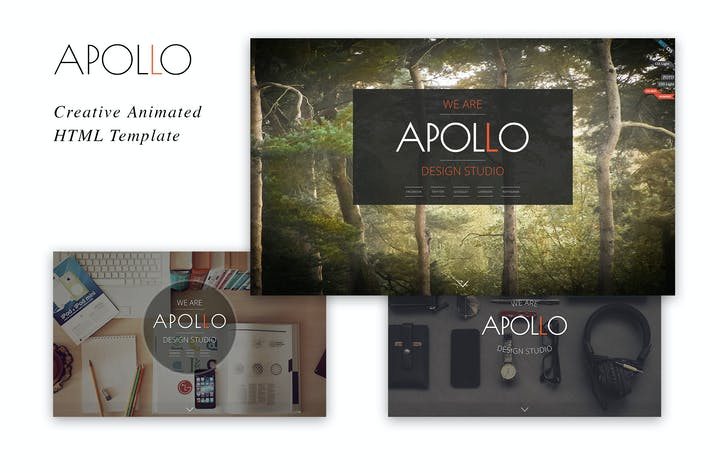 Thumbnail for Apollo - Creative Animated HTML Template