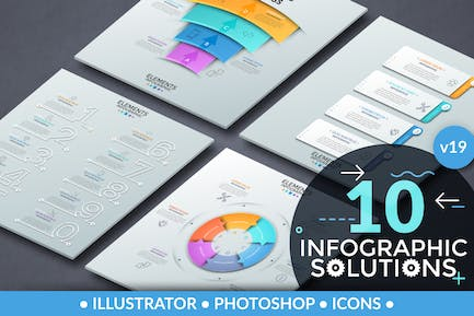 Infographic Solutions. Part 19