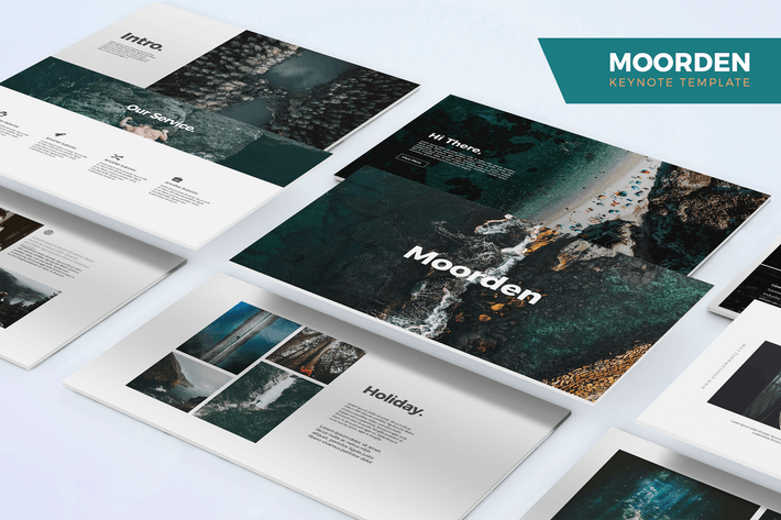 Thumbnail for Moorden - Keynote Template