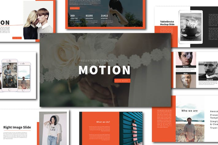 Thumbnail for Motion Powerpoint Template