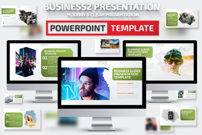 Thumbnail for Business2 Powerpoint