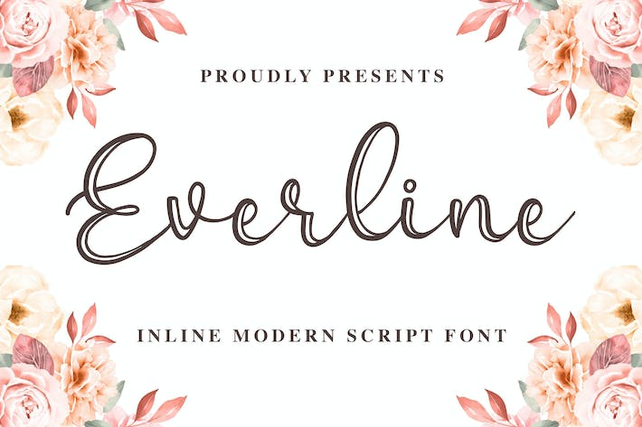 Thumbnail for Everline - une calligraphie moderne
