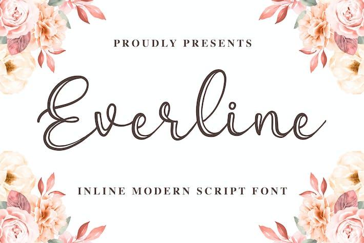 Эверлайн - современная каллиграфия