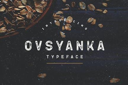 Ovsyanka Tipo de letra