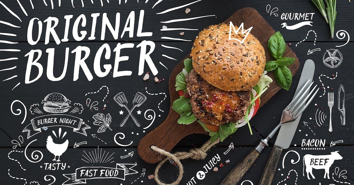 Download Original Burger Font by BarcelonaDesignShop