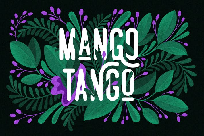 Thumbnail for 3 Fonts Mango Tango Collection