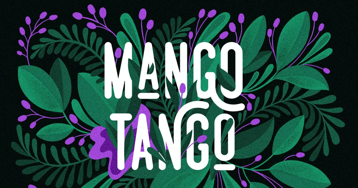 Download 3 Fonts Mango Tango Collection by BarcelonaDesignShop