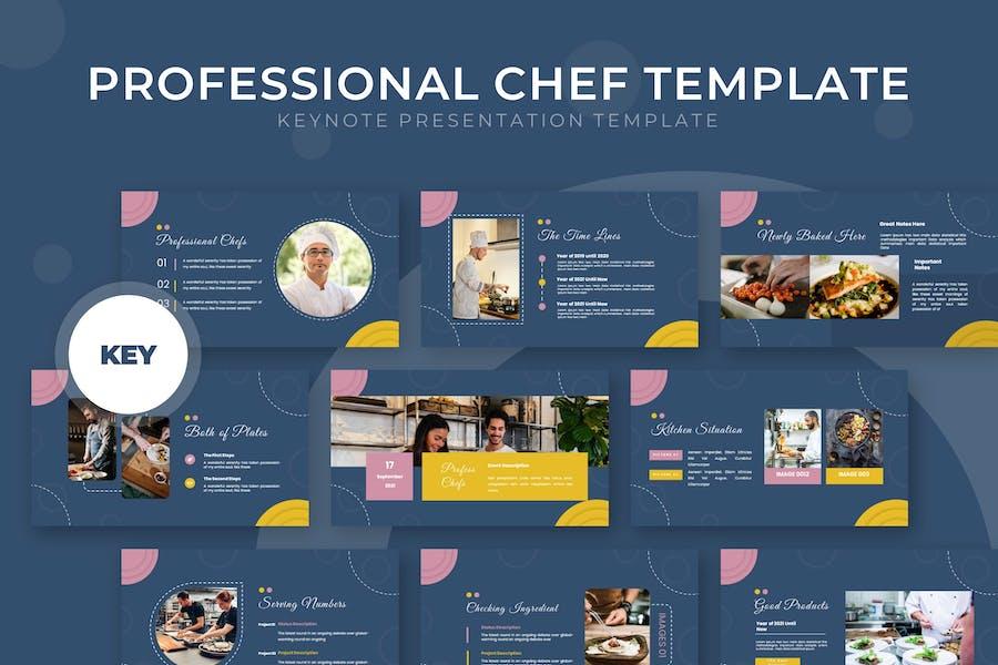 Professional Chef - Keynote Template