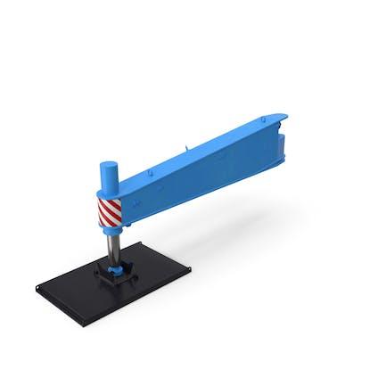 Crane Outrigger Large 04 Blue